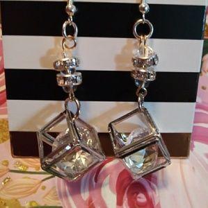 Homemade earrings.